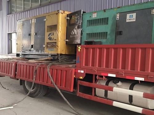 两台100kw发电机组为物流公司发电 - 第1张    上海发电机出租_苏州/常州_无锡发电机租赁